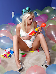 Party Girl Rebecca Blue Poses For the Camera - 5/22/2012