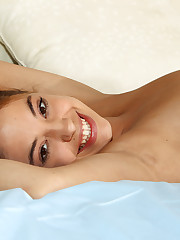 Sleepy Gigi Rivera Spreads Legs & Lips - 2/24/2011