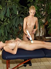 Sapphic Massage with Sara Jaymes and Franziska - 5/15/2012