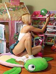 Franziska Toying in Playhouse - 5/4/2011