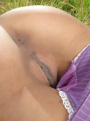 Lyla Storm pussy close - ups