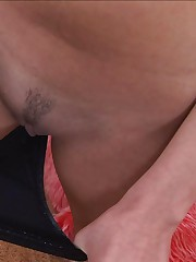 18closeup.com: Katie Gets her Crack Explored in Close-up! #Upskirt #Pussy #Shaking