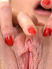 :: 18CloseUp.com ::  Wet Teen Pussy Gaping Wide Open