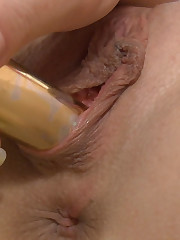 :: 18CloseUp.com ::  Elektra's Wet Orgasm and Anal Gapes