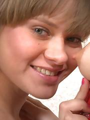 :: 18CloseUp.com ::  Lesbian Teens Fingering Their Juicy Pussies