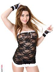 Ally Breelsen naked women fence entitlement