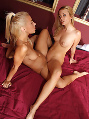 Nikky Thorne & Blue Angel in Bed - 12/31/2010
