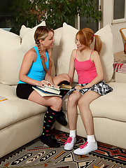 Teeny-weeny Newbie Mae Olsen Gets Fisted wits ALS Accessory Trisha - 7/27/2012