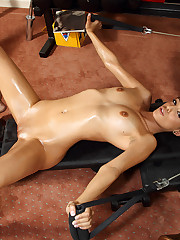 Melanie Rios Stretches Pussy & Works Out - 2/24/2011