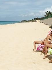 Blue Angel & Sara Jaymes Beach Fun - 6/2/2011