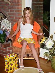 Upskirt Shots with Cute Redhead Vera - 6/8/2012