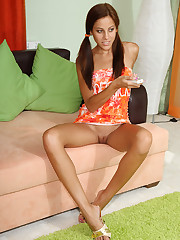 Anita Pearl Rides Yasmine's Strap-On - 3/24/2009