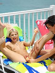Jana Foxy & Amia Moretti here Paradise - 8/28/2009